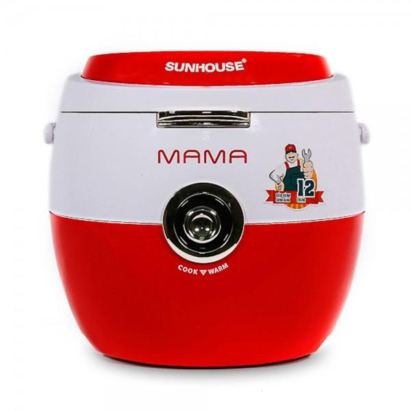 Nồi cơm điện 1.8L SUNHOUSE Mama SHD8661 cam/đỏ trắng