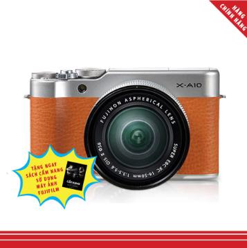 Máy ảnh FujiFilm X-A10 KIT XC 16-50mm F3.5-5.6 OIS II - Nâu - Hàng Chính hãng